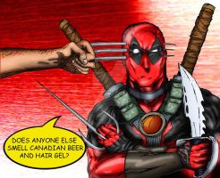 Deadpool vs Wolverine by madcrazyspider