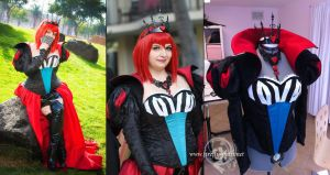 Angelina Durless Madam Red Queen of Hearts by Lillyxandra