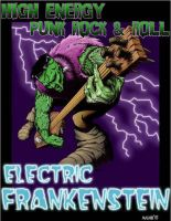 Electric Frankenstein poster by JasonMas