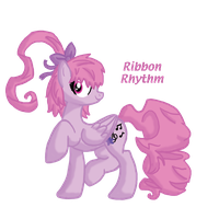 Ribbon Rhythm: A Request for FirePoppy by InkRose98