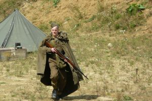 Russian soldier by Hareman