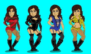 Maxine Outfits by ToruKun1
