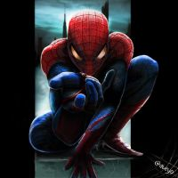 Amazing spiderman by xAteyox