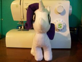Rarity Plushie (2) by The-Chaos-Controller