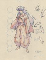 Inuyasha Proportions (2008) by LaNora-84
