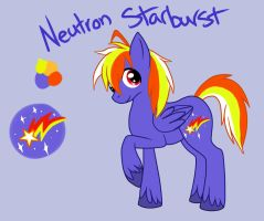 Neutron Starburst by GreyscaleRainbowXx