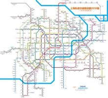 Shanghai Subway Map in 2030 by xxmlbbmm