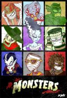 :: Monsters :: by MrXpk