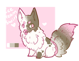 Ice Cream Swirl Adopt closed by Fenny-Fang