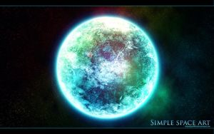 Space art 2.1 - simple by wilhelm1989