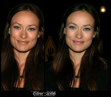 Retouch Olivia Wilde by theskyinside