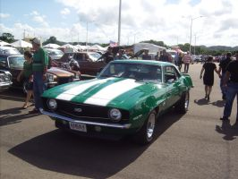 green Chevrolet Camaro SS by Mister-Lou