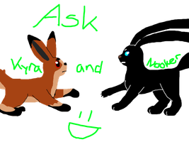Ask Kyra and Nooker :D by Finchflight