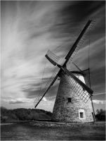 windmill by Trifoto