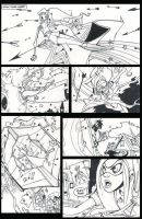 Pink Power 2 page 9 Lineart by HCMP
