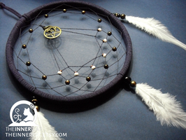 The Cat And The Pentacle Dream Catcher by TheInnerCat