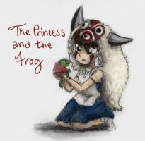 The Princess and the Frog by 4Fysh