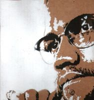 malcolm x ... by BUTTERRUM