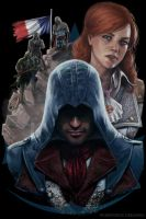 Assasin's Creed Unity Official Design Contest by Freia-Twin
