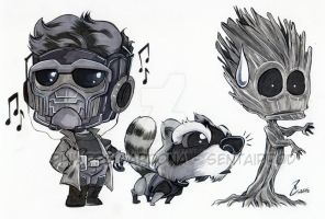 Grey Marker Guardians of the Galaxy by dekarogue