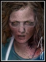 Walking Dead Sophia by RandySiplon