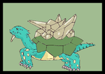 CB Emerald Turtle-Redone by miamiamyrose