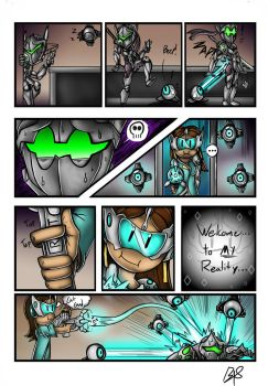 Welcome to MY Reality (Overwatch Comic) by b1uewhirlwind