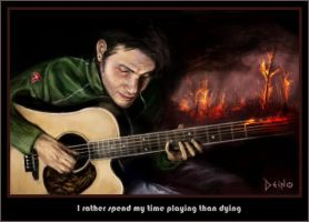 I rather spend my time playing by Deino