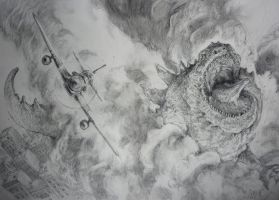 GODZILLA 2012     by The Gurch by TheGurch