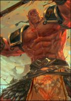 Red Orc by thiennh2