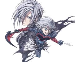 Kingdom Hearts: Riku And Zexion by Nick-Ian