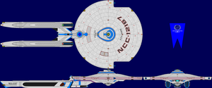USS Pense Multi-View by captshade