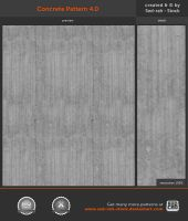 Concrete Pattern 4.0 by Sed-rah-Stock