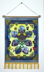 The Reach- illuminated manuscript on tapestry by RFabiano