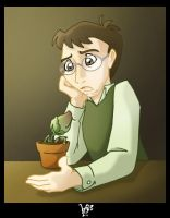 What's wrong little plant? by espie