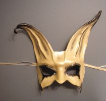 Leather Rabbit Mask 2 by teonova