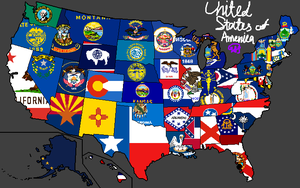 United States of America (USA) by kCouquedasse