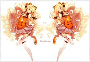 Korean Vocaloid - SeeU by Neire-X
