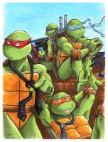 TMnT: Hangin Out by loolaa