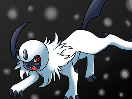 Absol by EarthQuaza