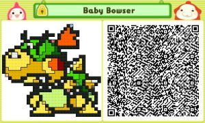 Baby Bowser QR by JAKtheTerrible