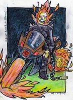 Prowl and Ghost Rider by Vampiric-Conure