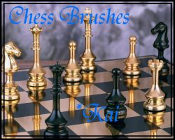 Chess Brushes by KaiPrincess