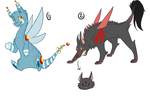 Doodle OTA Adopts by ThePotato-Queen