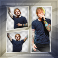 +Ed Sheeran iHeartRadio photopack png by ForeverTribute