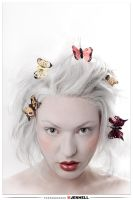 Pale Miss Butterfly by JenHell66