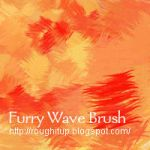 Furry Wave PhotoShop Brush by BogusRed