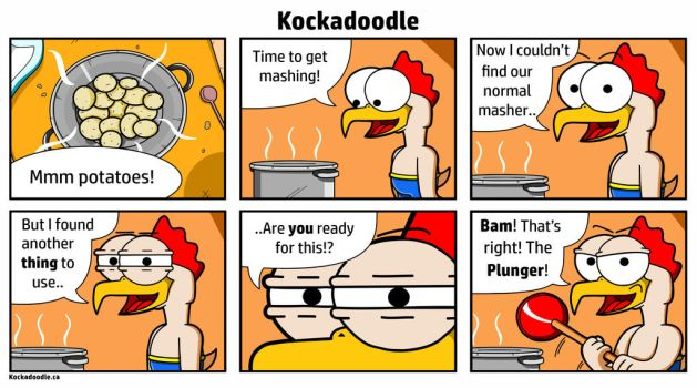 15. Mashed by Kockadoodle