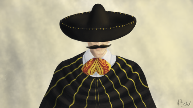 Mexican Cowboy by ABulut34