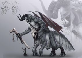 Monster concept by iBralui